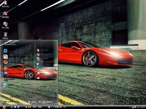 法拉利458电脑主题