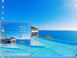 克里奥尔海滩电脑主题