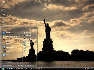 美国纽约自由女神像电脑主题
