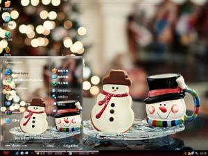 圣诞装饰电脑主题