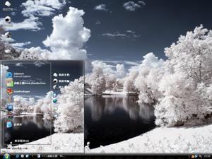 挪威雪景电脑主题