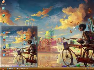 男孩童话插图电脑主题