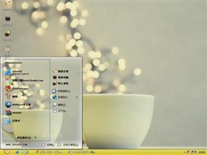 温暖咖啡杯电脑主题