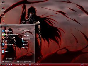 死神红色电脑主题