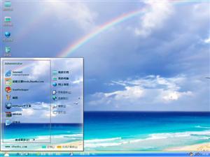 海洋沙滩电脑主题