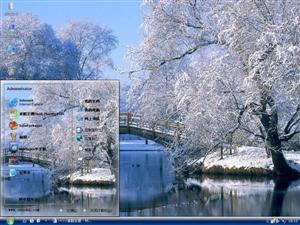 漂亮雪景电脑主题