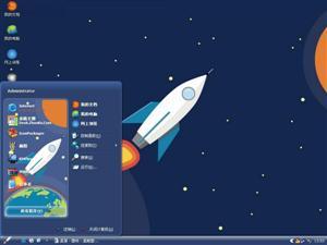 太空旅行电脑主题