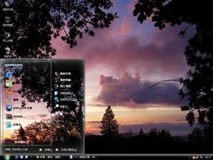 夕阳红电脑主题