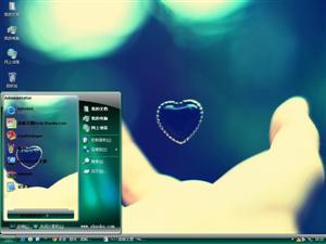 温馨浪漫的爱情电脑主题