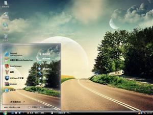 梦幻般的风景电脑主题