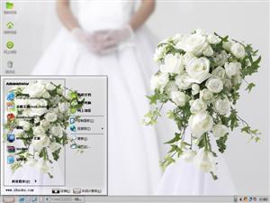 婚礼鲜花电脑主题