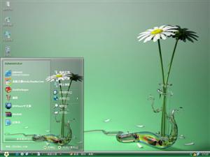 3D花朵电脑主题