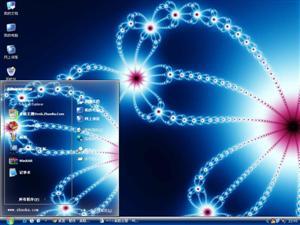 精美抽象花纹电脑主题