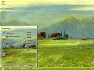 手绘风景电脑主题