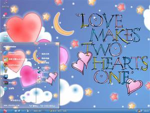 情人节love电脑主题