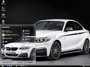 2014款宝马2系电脑主题