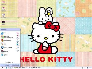 Hello Kitty桌布电脑主题