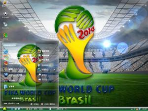 2014巴西世界杯电脑主题