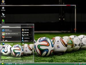 2014年巴西世界杯电脑主题