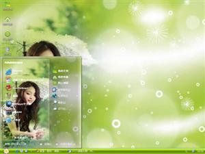 甘婷婷模特电脑主题